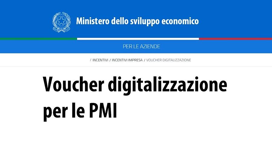 Voucher digitalizzazione: contributi a fondo perduto per la digitalizzazione