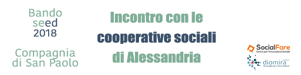 Incontro con le cooperative sociali – Bando Seed2018